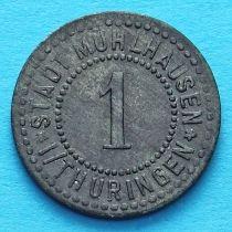 Германия 1 пфенниг 1920 год. Нотгельд Мюльхаузен