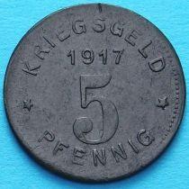 Германия 5 пфеннигов 1917 год. Нотгельд Виттен.