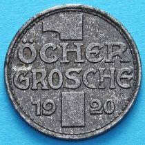 Германия 1 грош 1920 год. Нотгельд Аахен.