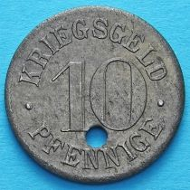 Германия 10 пфеннигов 1917-1920. Нотгельд Хейдельберг.