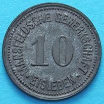 Германия 10 пфеннигов 1918 год. Нотгельд Айслебен.