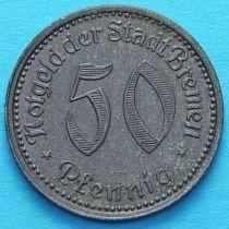 Германия 50 пфеннигов 1921 год. Нотгельд Бремен.