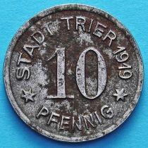 Германия 10 пфеннигов 1919 год. Нотгельд Трир.