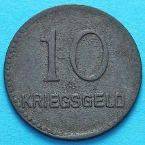 Германия 10 пфеннигов 1917 год. Нотгельд Кайзерслаутерн.