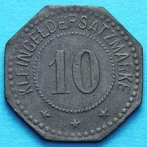 Германия 10 пфеннигов 1917 год. Нотгельд Виттенберг.