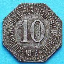 Германия 10 пфеннигов 1918 год. Нотгельд  Хильдесхайм.