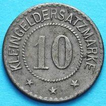 Германия 10 пфеннигов 1920 год. Нотгельд Фульда.