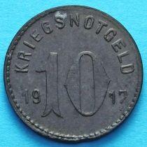 Германия 10 пфеннигов 1917 год. Нотгельд Шпайер.