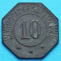 Германия 10 пфеннигов 1917 год. Нотгельд Нойштадт.