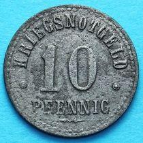 Германия 10 пфеннигов 1918 год. Нотгельд Нортхайм.