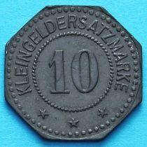 Германия 10 пфеннигов 1917 год. Нотгельд Зангерхаузен.