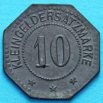 Германия 10 пфеннигов 1917 год. Нотгельд Фленсбург.