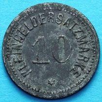 Германия 10 пфеннигов 1917 год. Нотгельд Идштайн.