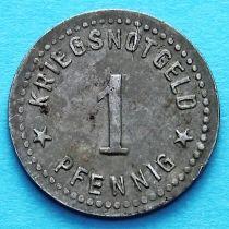 Германия 1 пфенниг 1917-1920. Нотгельд Гота.