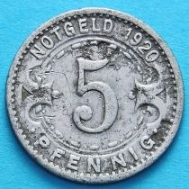 Германия 5 пфеннигов 1920 год. Нотгельд Виттен.