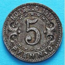Германия 5 пфеннигов 1919 год. Нотгельд Виттен.