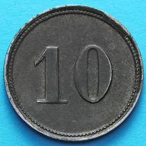 Германия 10 пфеннигов 1920 год. Нотгельд Пёснек.