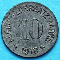 Германия 10 пфеннигов 1918 год. Нотгельд Хоф.