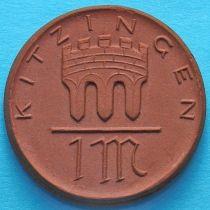 Германия 1 марка 1921 год. Нотгельд Китцинген.