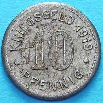 Германия 10 пфеннигов 1919 год. Нотгельд Ботроп.