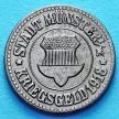 Монета Германии 10 пфеннигов 1918 год. Нотгельд Мюнстер.