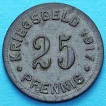 Германия 25 пфеннигов 1917 год. Нотгельд Мюнстер.