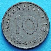 Германия 10 рейхспфеннигов 1941 год. D.