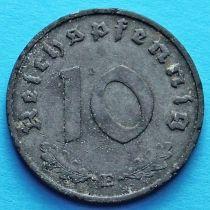 Германия 10 рейхспфеннигов 1941 год. Е.