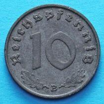 Германия 10 рейхспфеннигов 1941 год. В