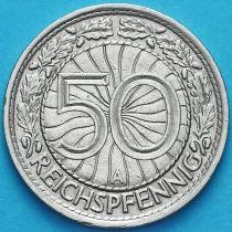 Германия 50 рейхспфеннигов 1929 год. Монетный двор А.