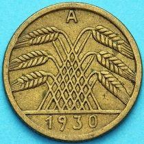Германия 5 рейхспфеннигов 1930 год. А.