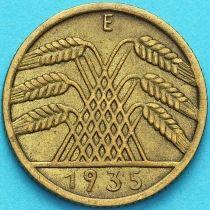 Германия 10 рейхспфеннигов 1935 год. Е
