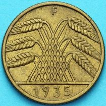 Германия 10 рейхспфеннигов 1935 год. F