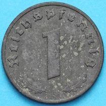 Германия 1 рейхспфенниг 1941 год. F