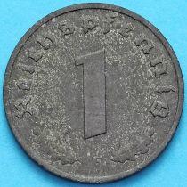 Германия 1 рейхспфенниг 1943 год. F
