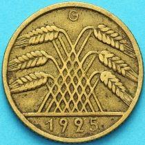 Германия 10 рейхспфеннигов 1925 год. G