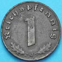 Германия 1 рейхспфенниг 1940 год. J