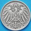 Монета Германии 5 пфеннигов 1901 год. J