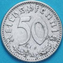 Германия 50 пфеннигов 1943 год. A.