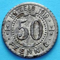 Германия 50 пфеннигов 1919 год. Нотгельд Гельзенкирхен.