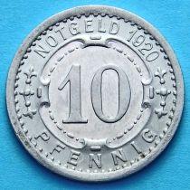 Германия 10 пфеннигов 1920 год. Нотгельд Виттен.