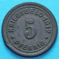Германия 5 пфеннигов 1917 год. Нотгельд Олигс.