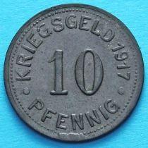 Германия 10 пфеннигов 1917 год. Нотгельд Мюнстер.