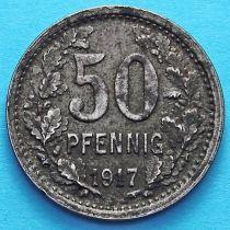 Германия 50 пфеннигов 1917 год. Нотгельд Изерлон.