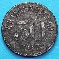 Германия 50 пфеннигов 1917 год. Нотгельд Фюрн.