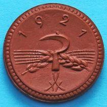 Германия 20 пфеннигов 1921 год. Нотгельд Саксония.