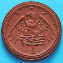Германия 2 марки 1921 год. Нотгельд Саксония.