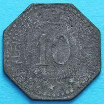 Германия 10 пфеннигов 1917-1920. Нотгельд Розенхайм.