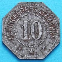 Германия 10 пфеннигов 1917-1920. Нотгельд Лихтенфельс.