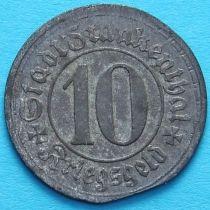 Германия 10 пфеннигов 1917 год. Нотгельд Франкенталь.